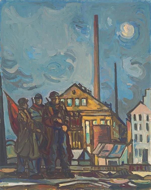Július Balogh – Februárová noc I.