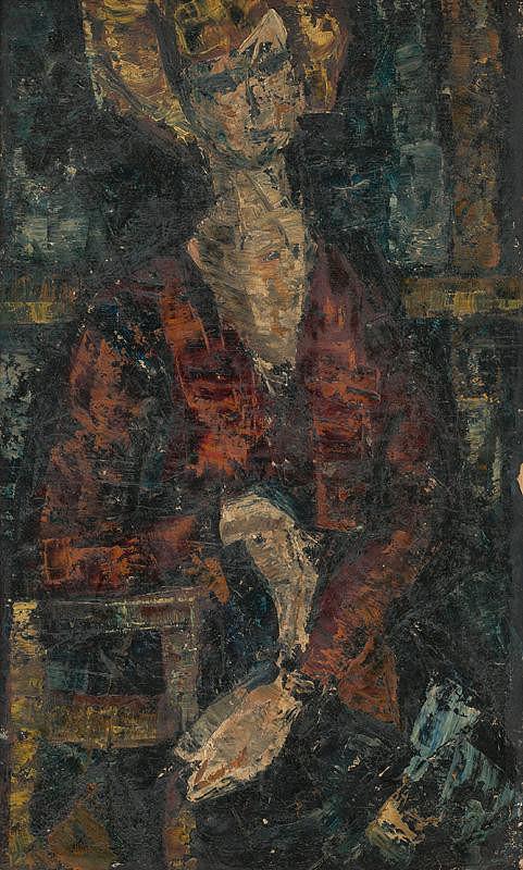 Viera Bartková – Sediaca žena