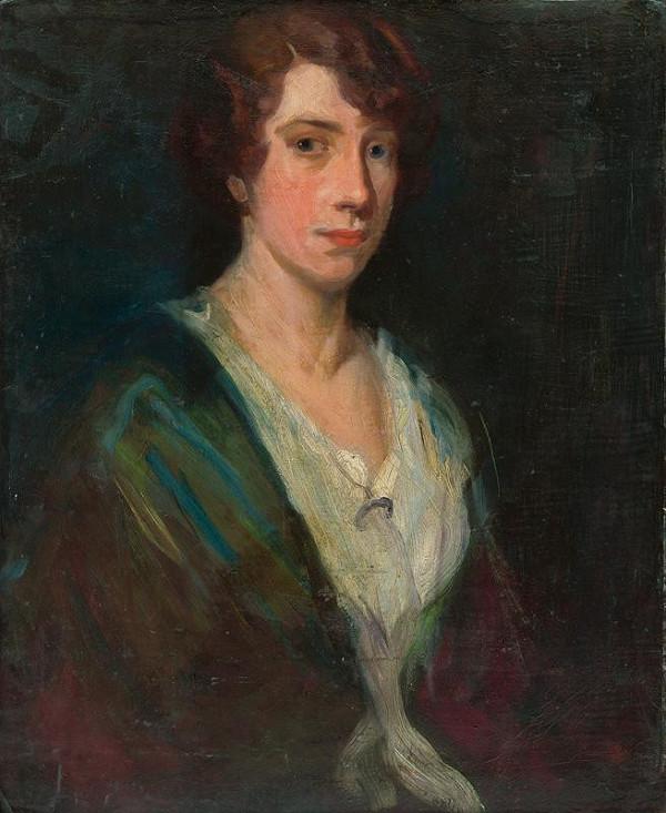 Ľudovít Pitthordt – Podobizeň umelcovej dcéry I.