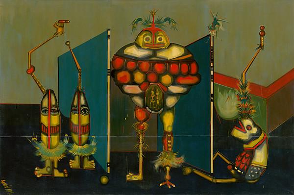 Karol Baron - GOLEM - časť triptychu