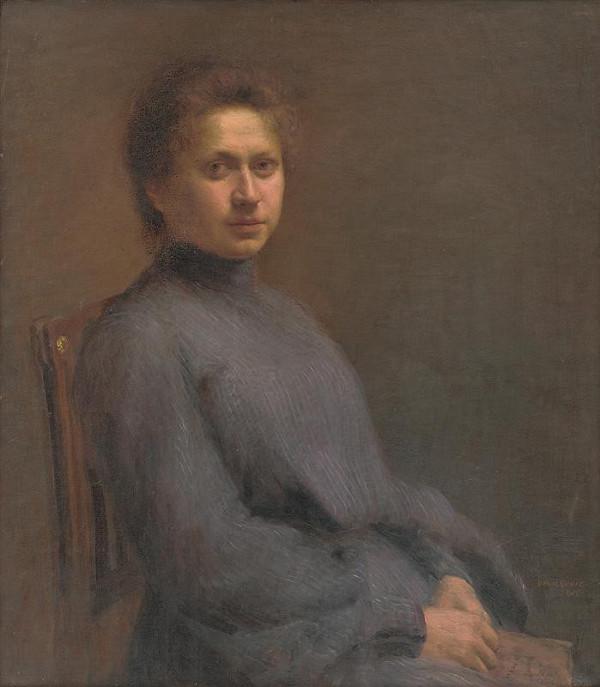 Elemír Halász-Hradil - Portrét umelcovej ženy