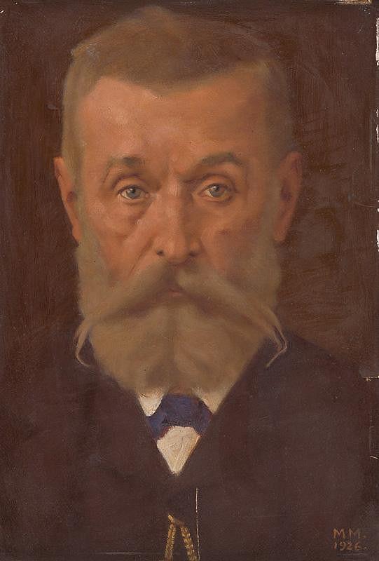Milan Thomka Mitrovský - Portrét Svetozára Hurbana Vajanského