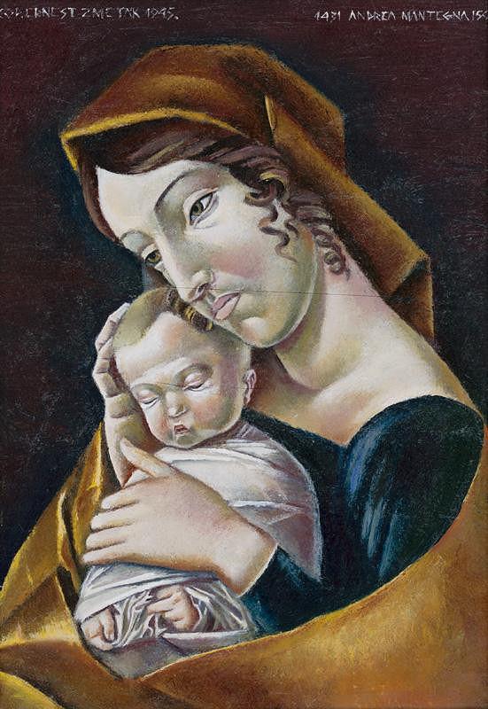 Ernest Zmeták, Andrea Mantegna – Madona s dieťaťom