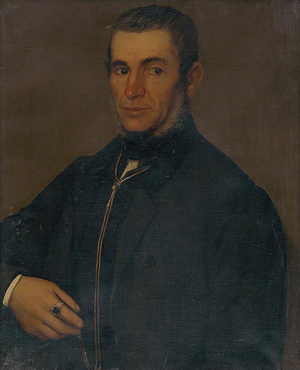 Západoslovenský maliar z polovice 19. storočia - Podobizeň pána Kráľoviča