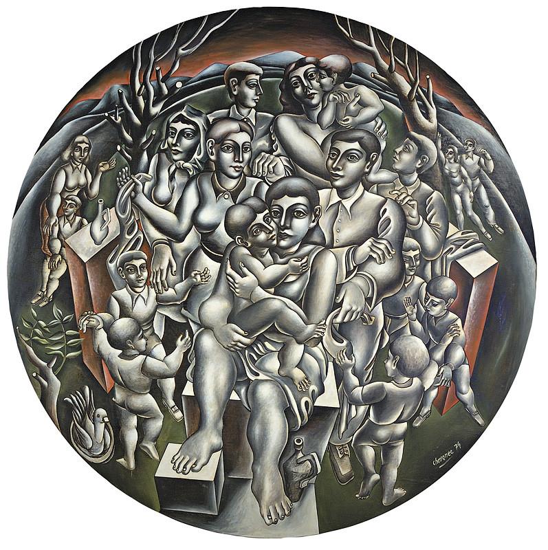 Milan Chovanec – Oslava mieru, 1974, Slovenská národná galéria