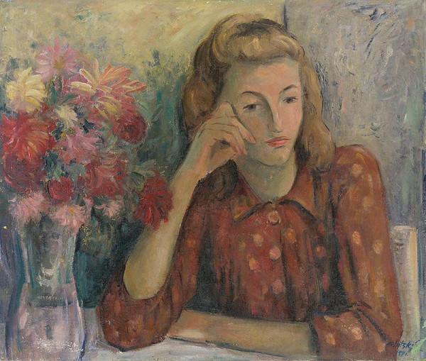Eugen Lehotský – Portrét dievčaťa
