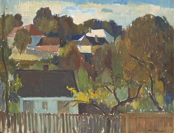 Martin Tvrdoň – Jeseň v Hrádku