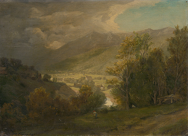 Jan Novopacký - Horské údolie
