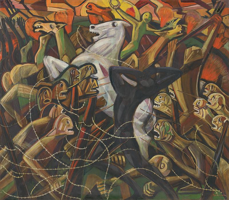 Anton Jasusch – Vojna, 1960 – 1965, Slovenská národná galéria