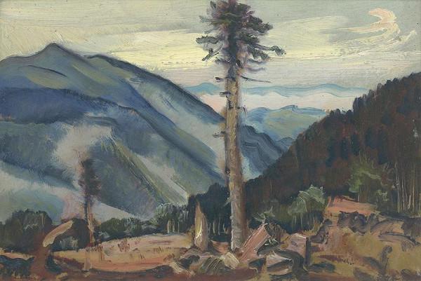 Martin Benka - Krajina v horách