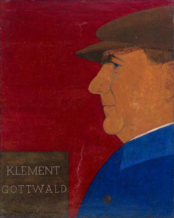 Ladislav Guderna - Klement Gottwald