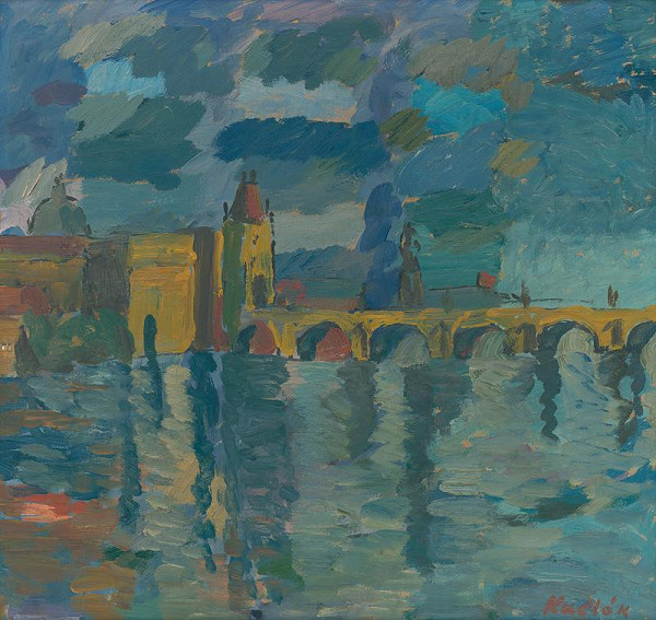 Ľudovít Kudlák - Karlov most