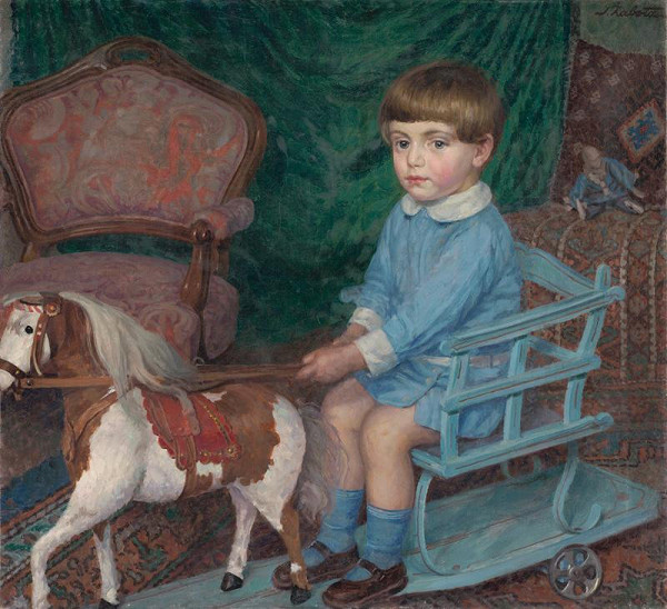 Ivan Žabota - Chlapček s koníkom