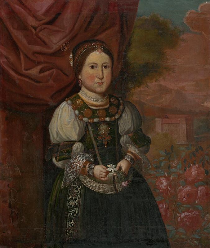 Monogramista P.B. – Dievčatko zo Strážok, 1660 – 1670,  Slovenská národná galéria