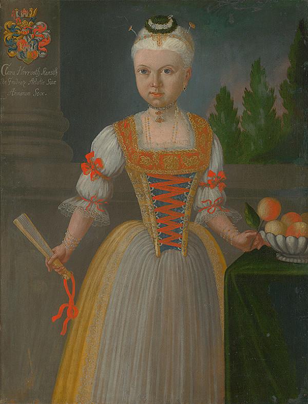 Ján Gottlieb Kramer - Klára Horvath  Stančič 6 ročná