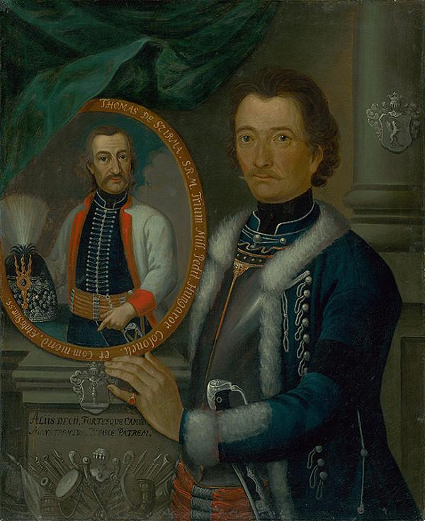 Slovenský maliar okolo polovice 18. storočia, Neznámy maliar - Kapitán Samuel Székely s podobizňou plukovníka Tomáša Szirmaya