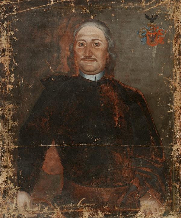 Slovenský maliar okolo polovice 18. storočia, Neznámy maliar - Podobizeň zemana