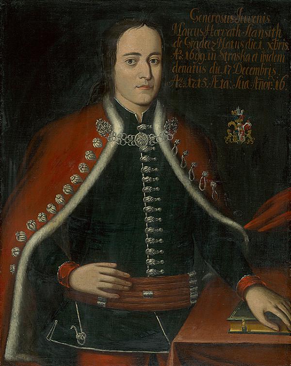 Slovenský maliar zo začiatku 18. storočia, Neznámy maliar, Neznámy umelec - Marek Horvath-Stansith v zemianskom kroji ako 16 ročný