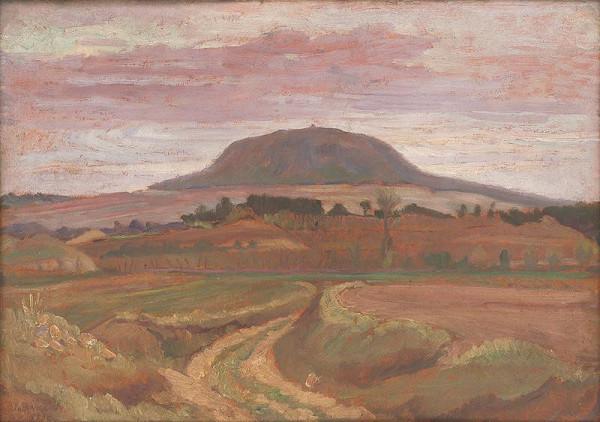 Jozef Bendík – Hora Říp