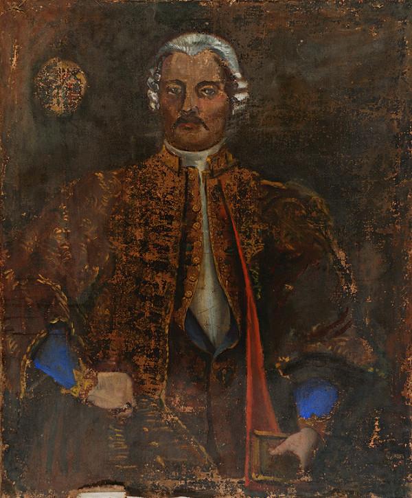 Slovenský maliar z polovice 18. storočia, Neznámy maliar – Podobizeň Antona Medňanského