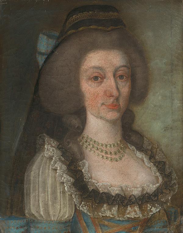 Slovenský maliar z konca 18. storočia, Neznámy maliar – Barónka Jozefína Mednyánzska