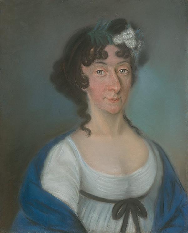 Slovenský maliar z konca 18. storočia, Neznámy maliar, Stredoeurópsky (viedenský) maliar pastelov - Grófka Jozefína Praschmová rod. Eszterházy
