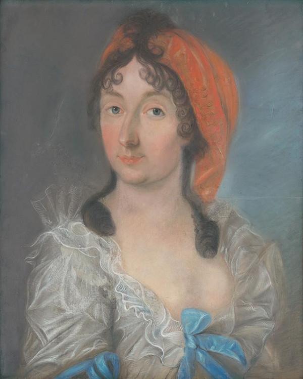 Slovenský maliar zo začiatku 19. storočia - Grófka Antónia Apponyiová