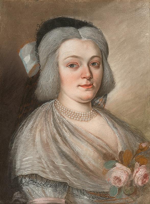 Jozef Fridrich Wagner, Slovenský maliar zo začiatku 19. storočia – Anna Mária Szirmayová rod. Horvath-Stansith