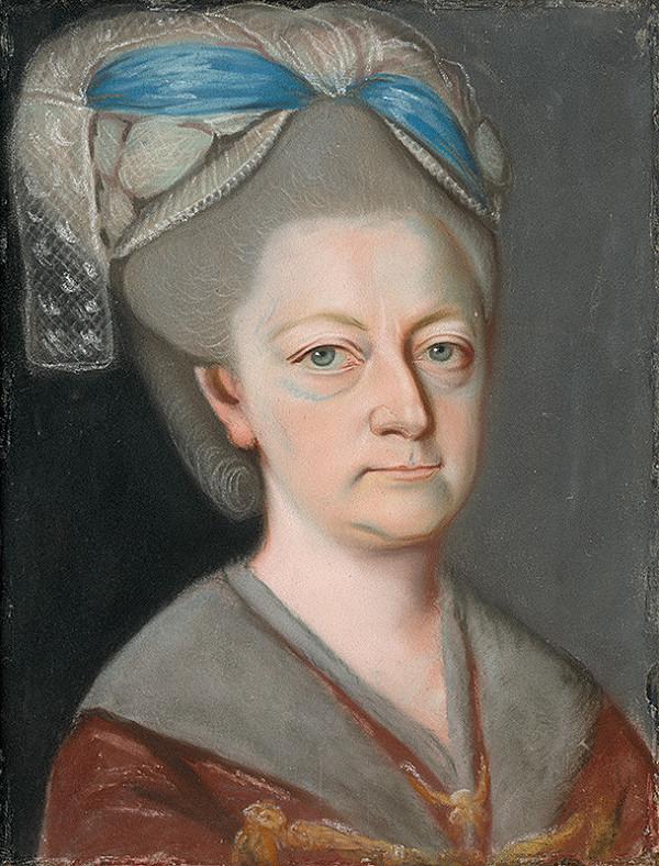 Slovenský maliar z konca 18. storočia, Neznámy maliar - Podobizeň grófky Anny Márie Erdödy