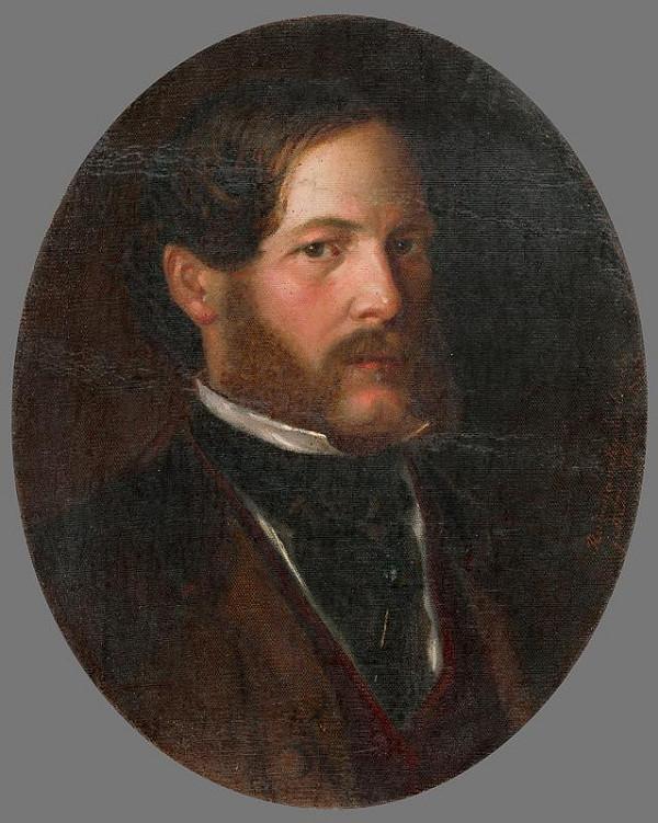 Kálmán Rudnyánszky – Podobizeň baróna Gejzu Medňanského