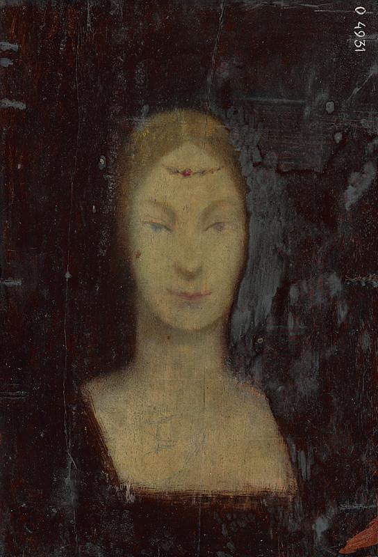 Ladislav Mednyánszky – Hlava ženy