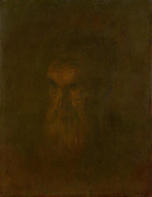 Ladislav Mednyánszky – Štúdia hlavy starca