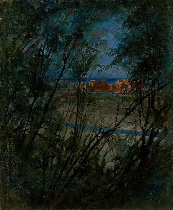 Ladislav Mednyánszky – Modrá krajina
