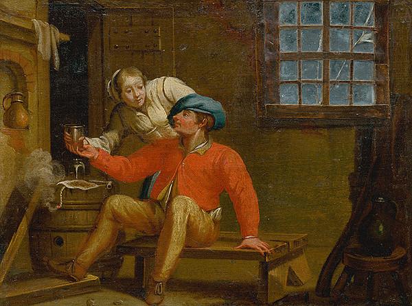 Stredoeurópsky kopista zo začiatku 20. storočia, Holandský maliar zo 17. storočia - Milenci