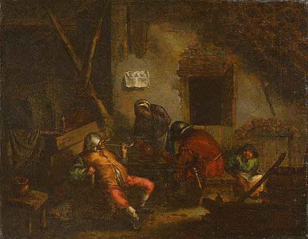 Adriaen van Ostade – Fajčiari [Alegória čuchu]