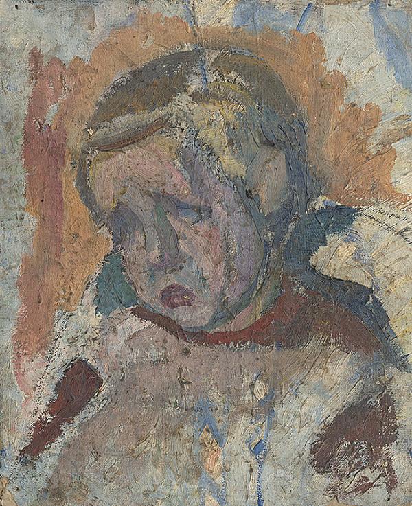 Frida Konstantin - Štúdia hlavy chlapčeka