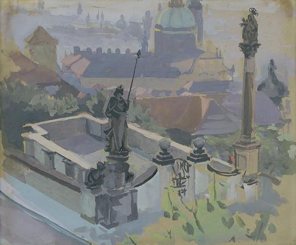 Stredoeurópsky maliar z 1. polovice 20. storočia - Pohľad na mesto