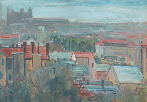 Dezider Milly – Pohľad na starú Bratislavu