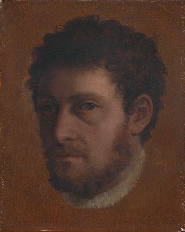 Lambert Sustris, Severotaliansky maliar okolo polovice 16. storočia, Jan Stephan van Calcar – Štúdia hlavy mladého muža