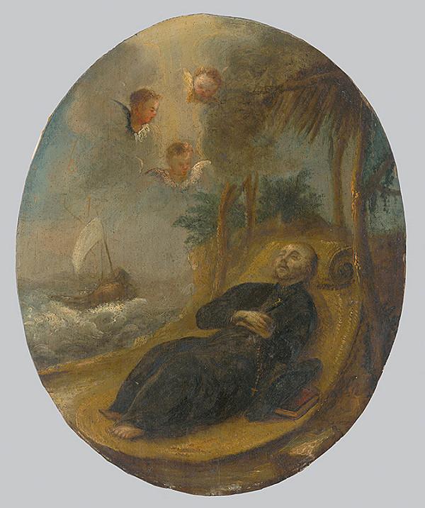 Slovenský maliar z konca 17. storočia, Neznámy maliar - Smrť svätého Františka z Assisi