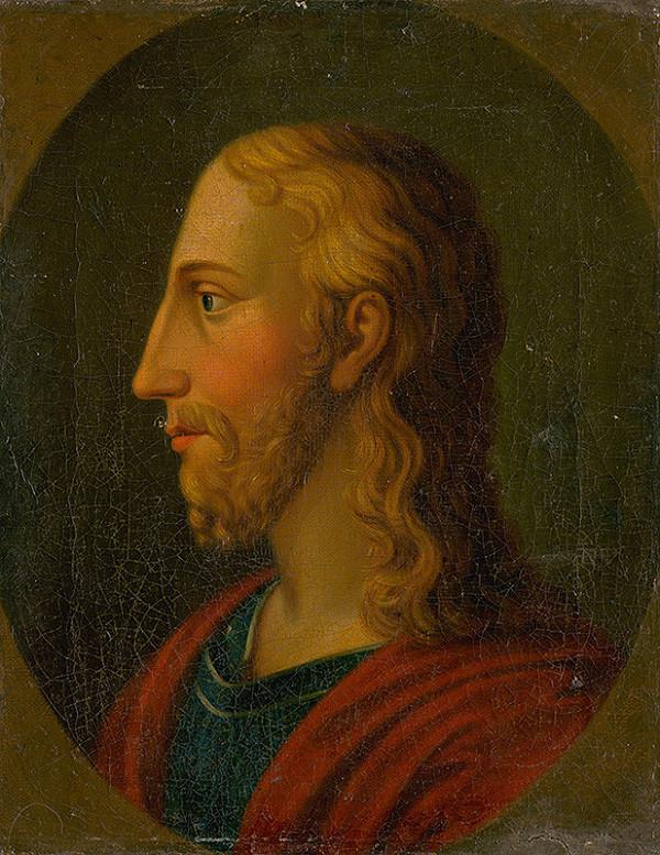 Stredoeurópsky maliar z 1. polovice 19. storočia - Hlava Krista