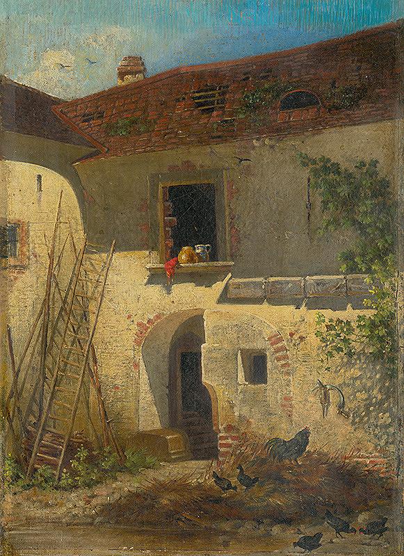 Friedrich Carl von Scheidlin – Starý sedliacky dvor v Jure