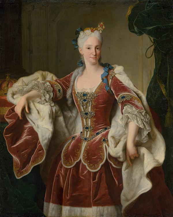 Jean Ranc - Élisabeth Farnèse