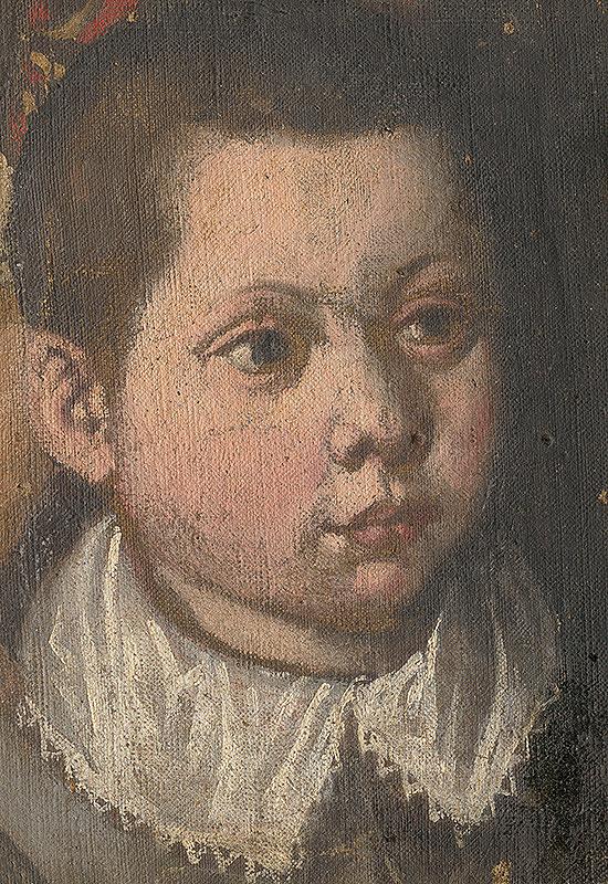 Stredoeurópsky maliar zo 17. storočia – Hlava chlapca