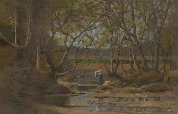 Ferdinand Katona – Dievča pri potoku
