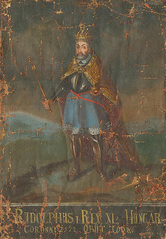 Slovenský maliar z 18. storočia, Neznámy maliar - Uhorský kráľ Rudolf I.
