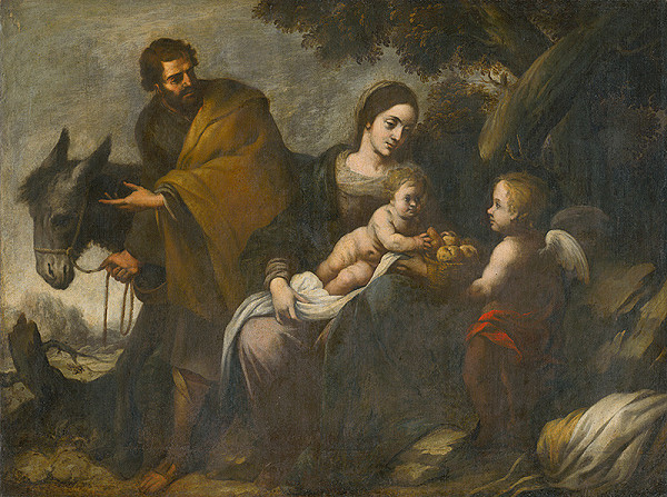 Bartolomé Estebán Murillo, Španielsky maliar z konca 17. storočia – Na ceste do Egypta