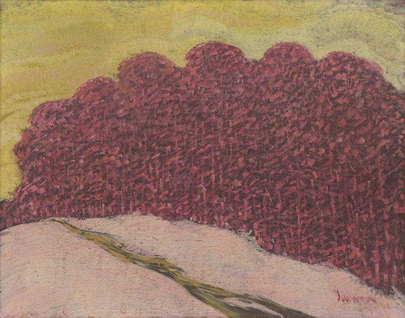 Anton Jasusch - Les, 1910, Slovenská národná galéria