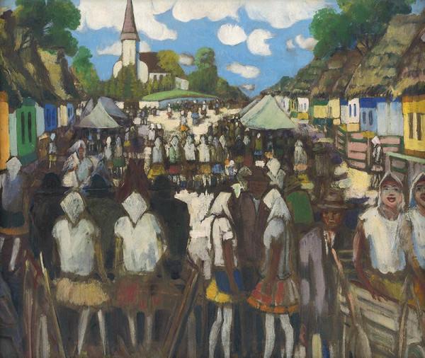Anton Jasusch – Slávnosť v Hrani