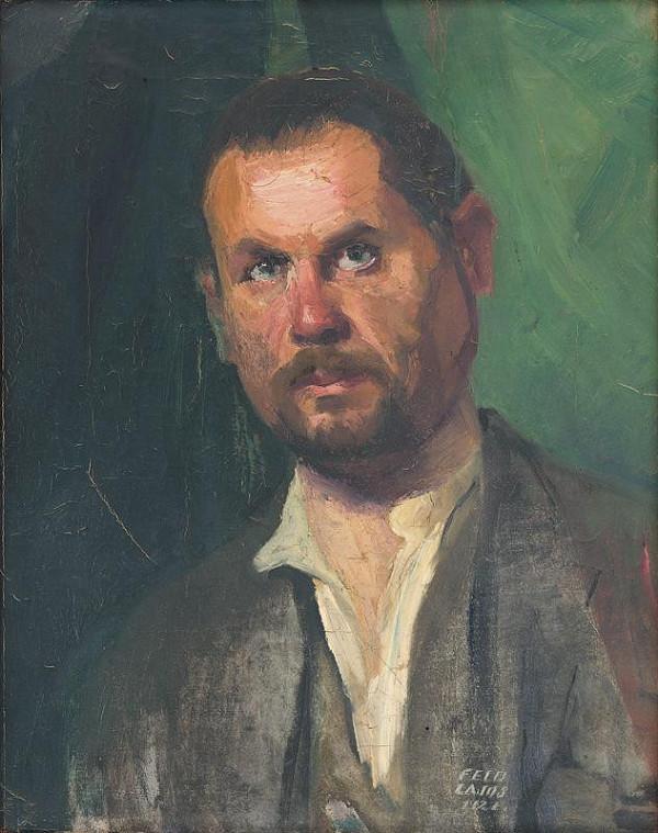 Ľudovít Feld - Mužský portrét